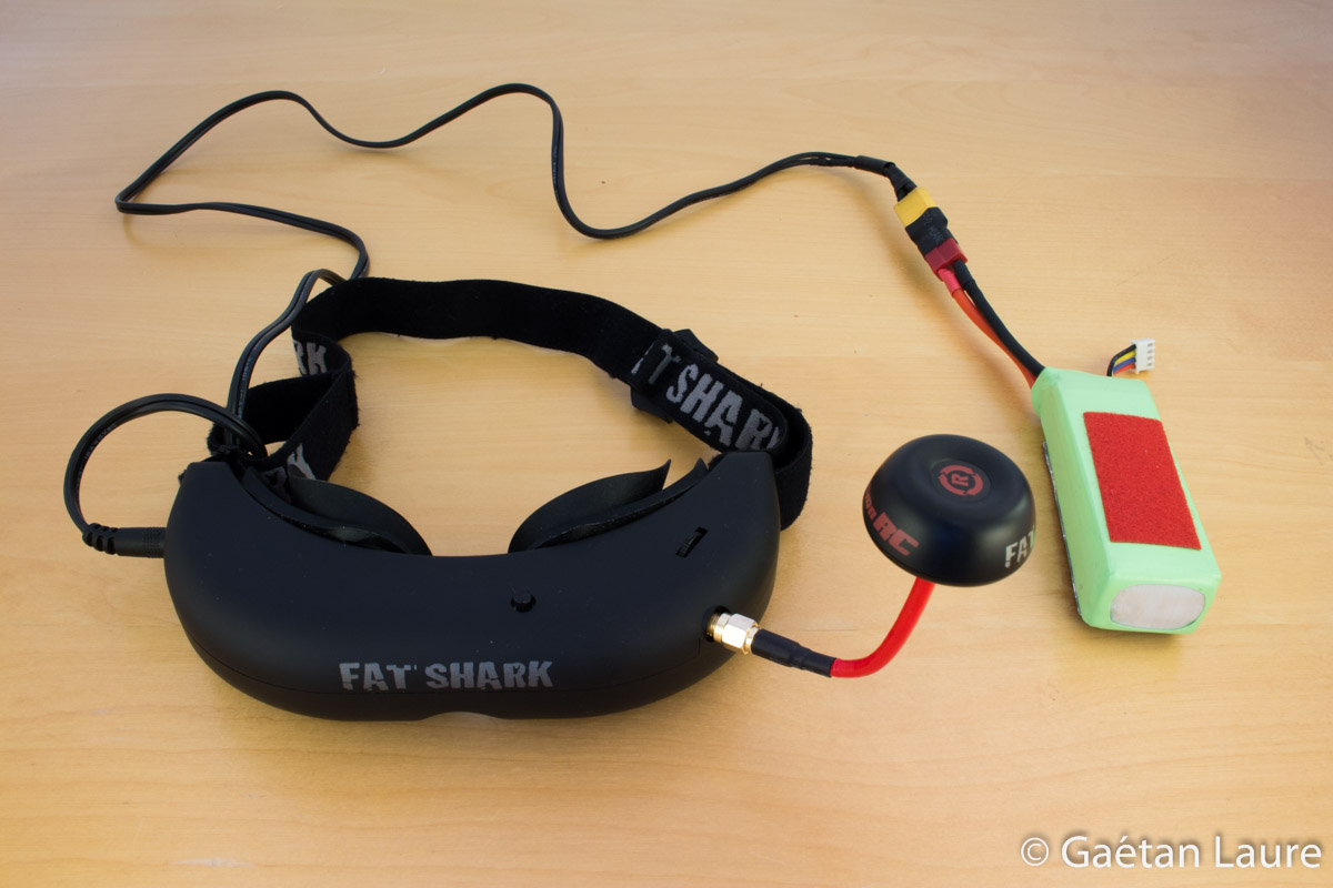The Tricopter V2 Carbon Arms Version Gatan Laure Fat Shark Camera Wire Diagram Description