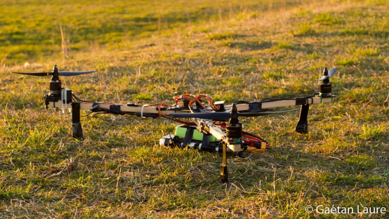 Tricopter ready to fly
